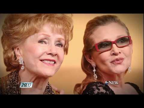 Debbie Reynolds and Carrie Fisher Heartbreak in Hollywood