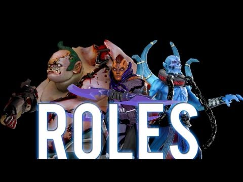 DOTA 2 Hero Roles (Ganker, Pusher, Jungler) Guide