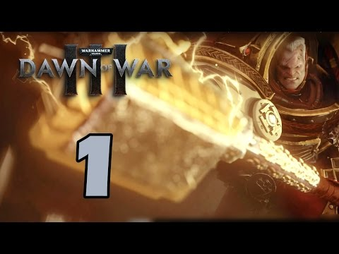 Прохождение Warhammer 40,000: Dawn of War III #1 - Оборона Крепости Варлоков