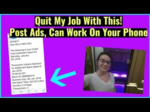 Make Money Posting Ads On Social Media - How To Make Money Online Fast 2018 - Work On Your Phone