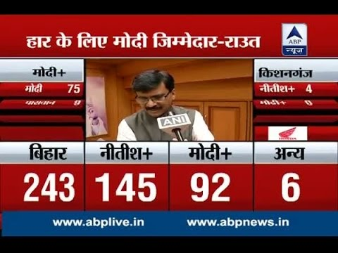 Shiv Sena holds Modi responsible for the defeat in Bihar Elections