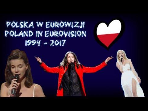 Polska w Eurowizji   Poland in Eurovision 1994 - 2017