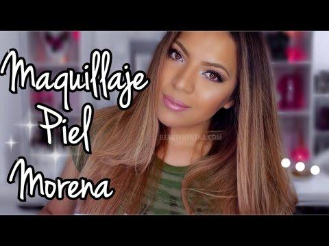 Maquillaje para Piel Morena/Trigueña Arreglate conmigo ♥BeautybyNena