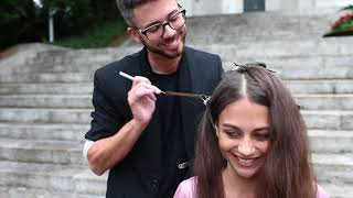 DOBI Hair Tutorial - Weft in Extensions by Martin Dürrenmatt
