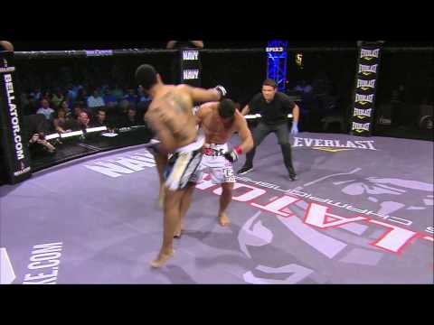 Bellator 61 Moment - Brian Rogers KOs Vitor Vianna
