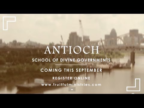 Antioch School of Divine Governments Promo