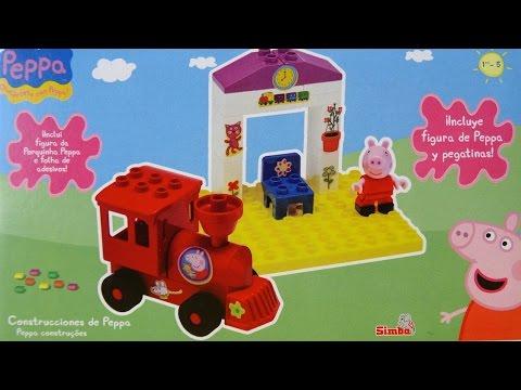 Peppa Pig Estación de Tren de Peppa Pig Juego de Bloques
