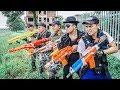 LTT Game Nerf War : Warriors SEAL X Skills Nerf Guns Fight Inhuman Group Robbers Street