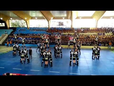 Bukidnon National High school (Cheerdance 2015)