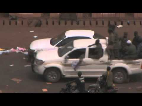Coup d'Etat Mali Mars March 22 exclusive footage