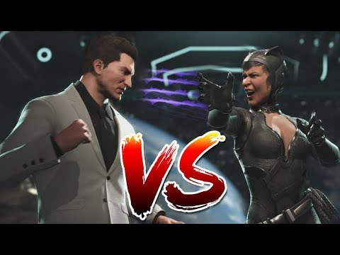 Injustice 2 Versus -  Batman & Catwoman Wedding Discussion