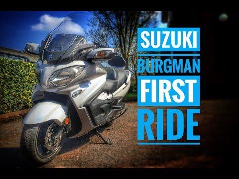 2018 Suzuki Burgman 650 Review