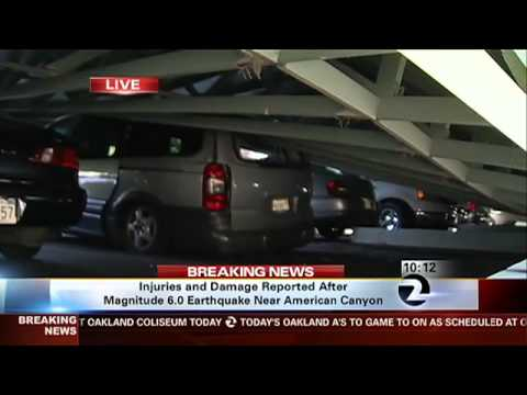 Napa Earthquake: One Year Later - Carport Collapse