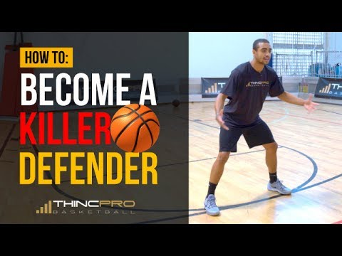 How to - Become a KILLER DEFENDER in Basketball Basketball Defense Tips for Young Players
