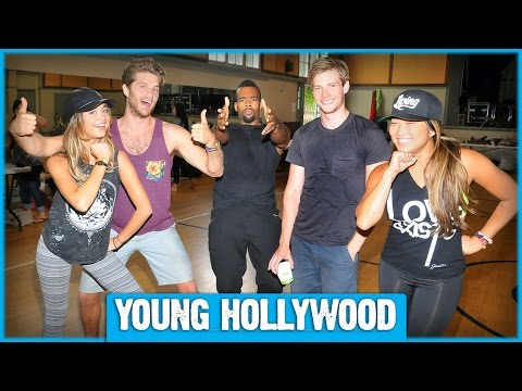 HAIR Musical's Star-Studded Cast Rehearses for Hollywood Bowl Show
