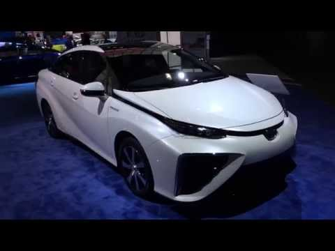 Hydrogen Powered Toyota MIRAI Car
