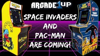 Arcade1Up Space Invaders & Pac-Man Cabinets Are Coming!
