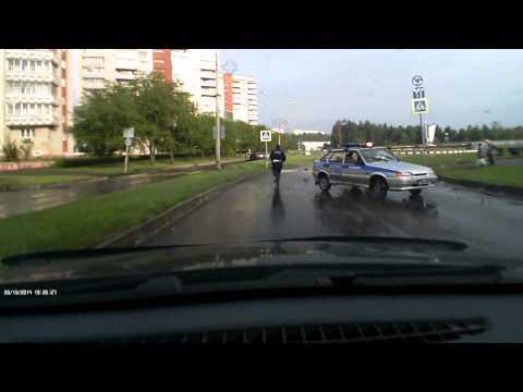 Полицейский разворот г. Железногорск
