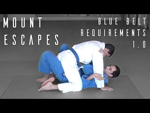 RDA BJJ: Mount Escapes Image 1