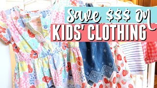 💵 How to Save MONEY on Kids Clothes 👕 | LOOK CUTE ON A BUDGET | Money-Saving Tips