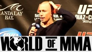 Georges St. Pierre (GSP) Thinks Matt Hughes Still Has What it Takes to be a Top Guy in the UFC