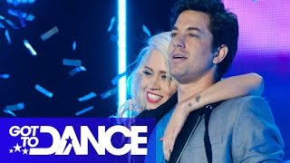 Kimberly Wyatt & Adam Garcia Perform | Got To Dance Series 3