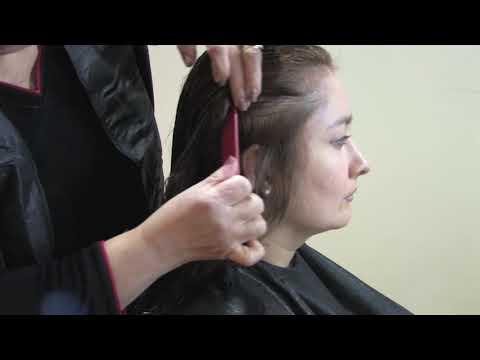 Como cortar el pelo en capas - 1 de 2 - Cursos de Peluqueria