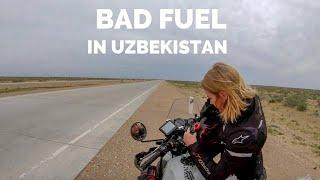 [Eps. 69] BAD FUEL - Royal Enfield Himalayan BS4 - To Bukhara, Uzbekistan