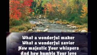 Watch Chris Tomlin Wonderful Maker video