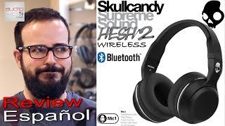 Skull Candy Hesh2 Wireless Bluetooth. Review en español.