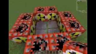 Ядерную бомбу в minecraft без модов