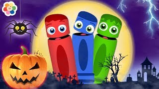 Learn Fun Colors For Halloween With Color Crew   Colors For Children, Kids & Babies
