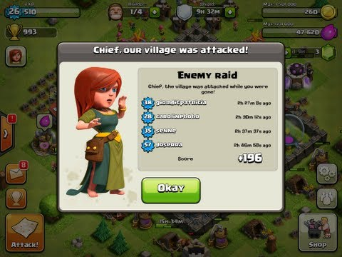 Best Town Hall Level 7 Defense Setup - Clash of Clans - WINS