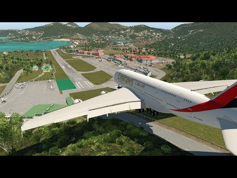 Big Planes at St Barths! [XP11]