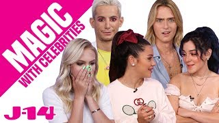 Niki & Gabi, Luke Eisner, and More React to Magic Tricks | Magic With Celebrities