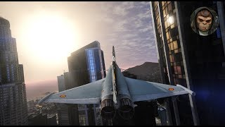 ► GTA 6 Graphics -  Fighter Jet Gameplay!  ✪ M.V.G.A. - 2017 Realistic Graphics MOD 60FPS