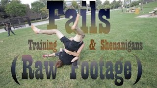 Fails, Training, and Shenanigans in LA (Raw Footage)