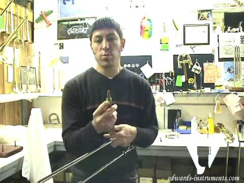 Christan Griego shows us how to remove and replace worn slide felts/bumpers.