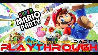 Super Mario Party Blind Playthrough Part 5 (River Challenge Final Take)