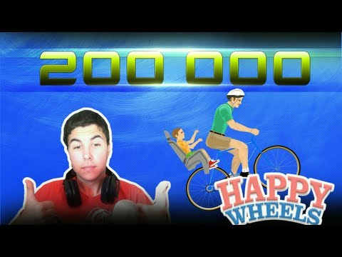 ESPECIAL 200.000: HAPPY WHEELS EN DIRECTO!! [PARTE 1]