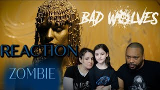 Bad Wolves Zombie Reaction