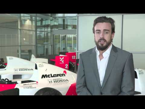 F1 2015 - McLaren Honda - Interview with Fernando Alonso (Spanish)