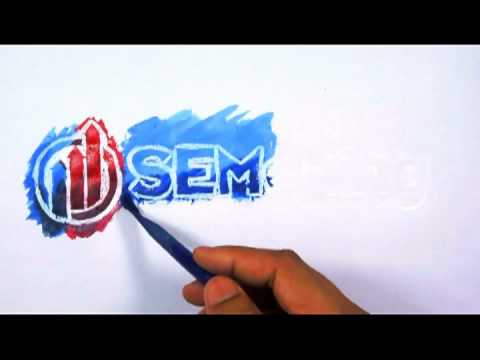 SEMazing - Logo Speed-Painting mit Wasserfarben