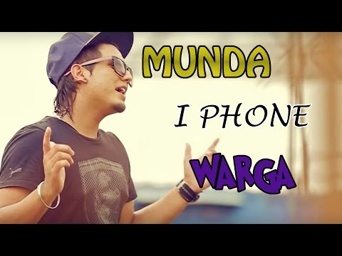Munda Iphone Warga | A Kay Ft Bling Singh | Muzical Doctorz | Brand New Punjabi Songs | Full Hd video