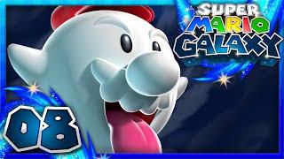 Super Mario Galaxy - Part 8 - Ghostly Galaxy! (1080p 60FPS)