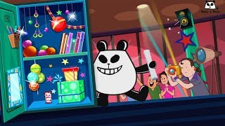Extreme Makeover Locker Edition | Panda A Panda Cartoons | Videos by Kids Channel