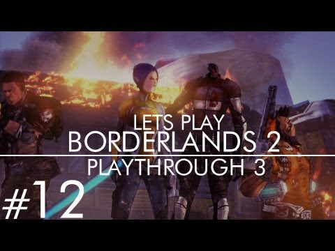 Borderlands 2 Ultimate Vault Hunter Mode Pt. 12 (TEA PARTY TIME!)