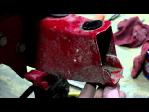 How to replace Front axle assembly  / Front wheel Bushings In a Riding Lawn Mower (MTD)