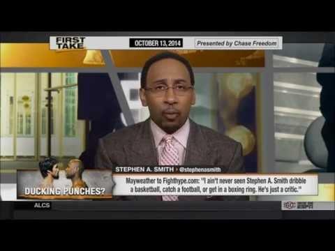 Ведущий ESPN ответил Мейвезеру на его критику (русс.яз.)