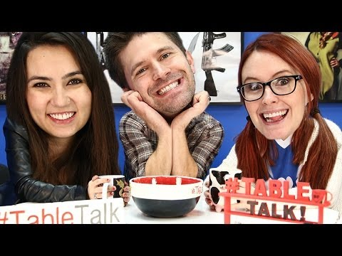 Forbidden Superhero Love Stories and The Prettiest One - It's #TableTalk!